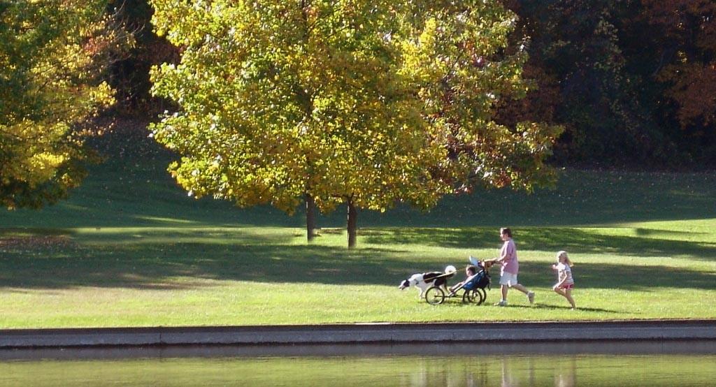Munroe Park strolling