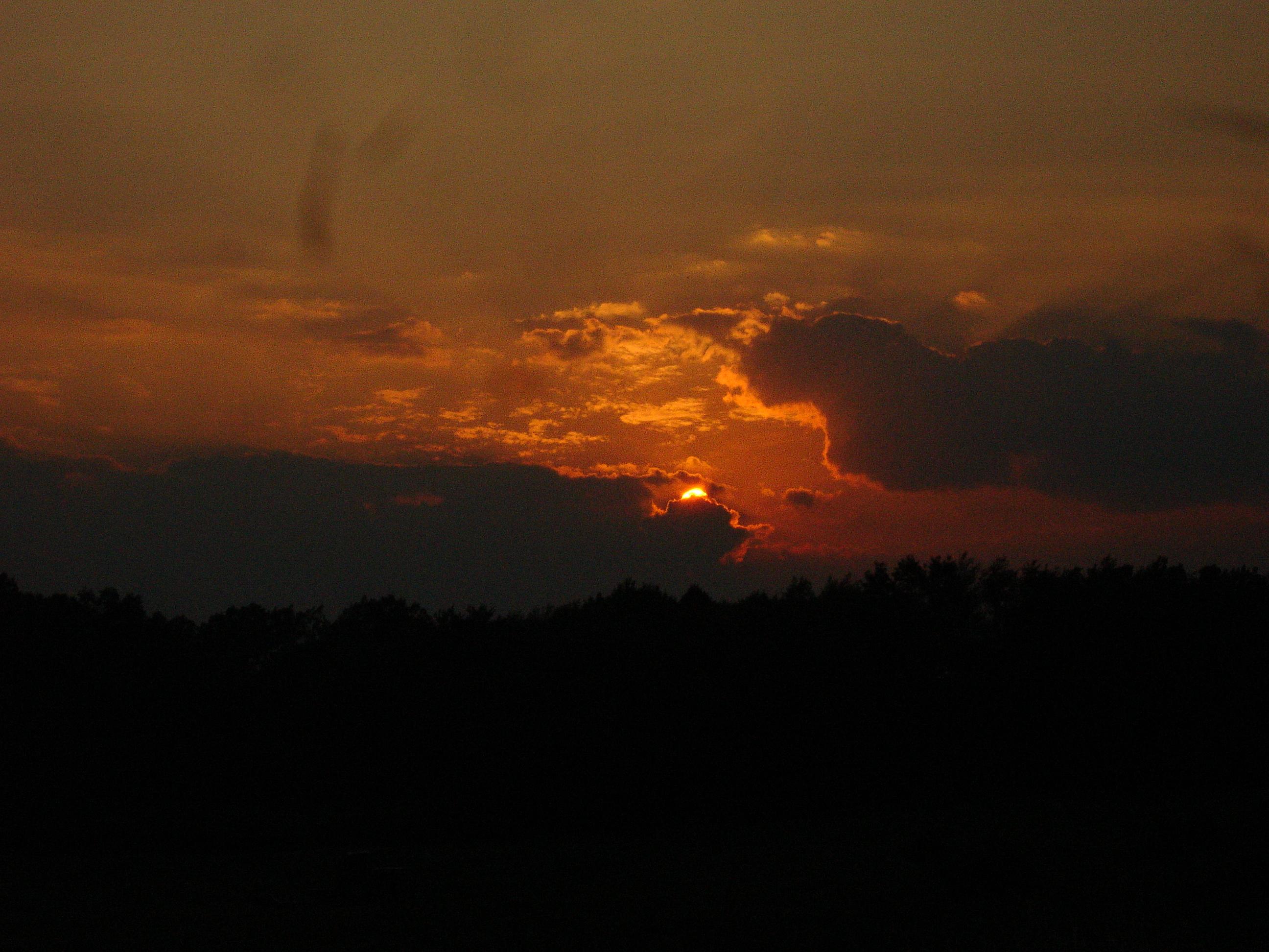 Sunset at 261