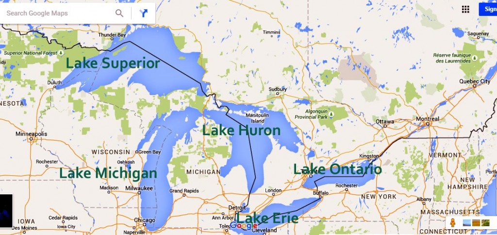 5 grea lakes