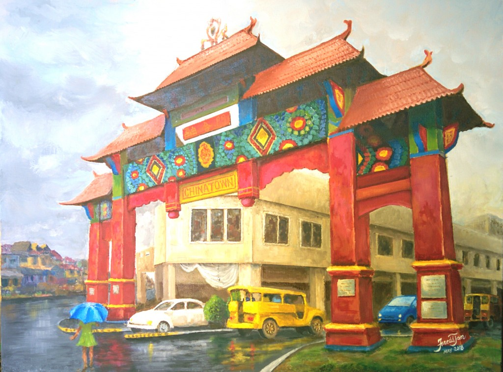 chinatown fred painting